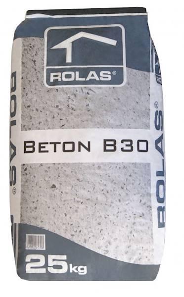 Zapr.  ROLAS beton B30 25kg