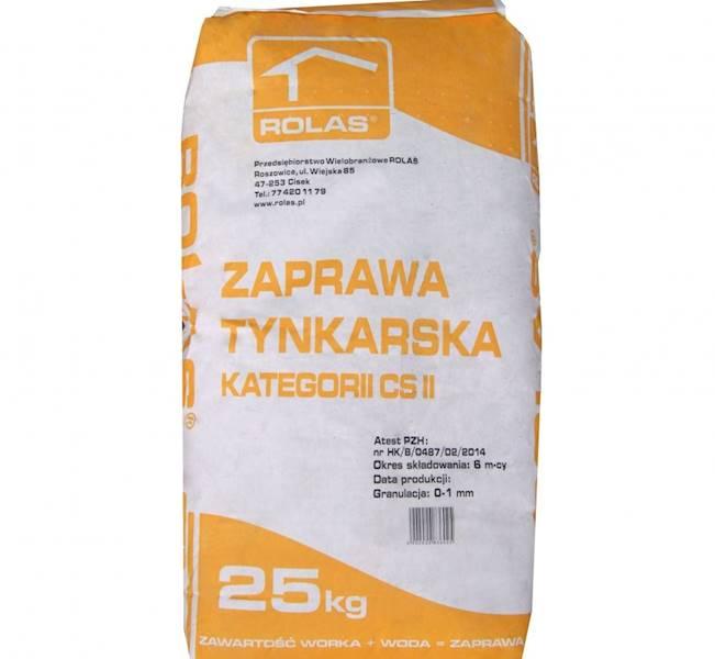 Zapr.  ROLAS tynkarska 25kg