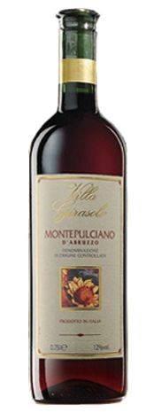 Montepulciano d'Abruzzo DOC Girasole 0,75 (CPW)