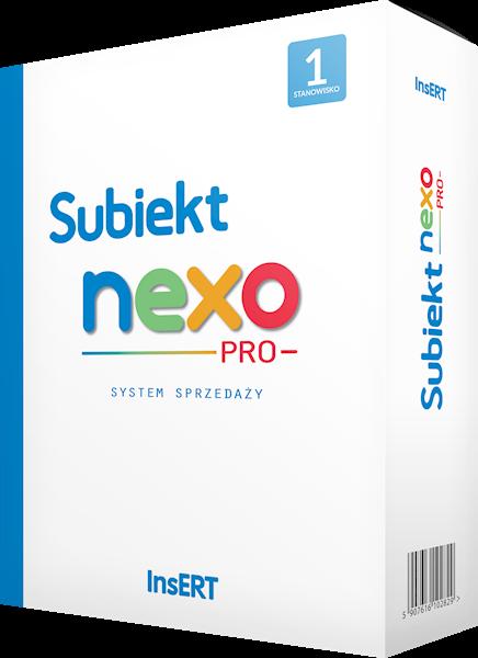 Subiekt nexo PRO 1 + Subiekt nexo krok po kroku - szkolenie multimedialne (gratis)