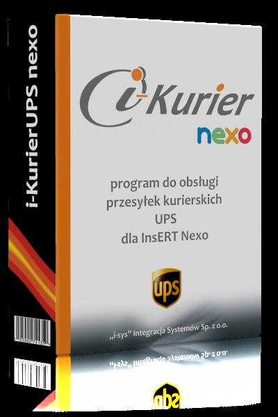 i-KurierUPS nexo • licencja na 1 miesiąc
