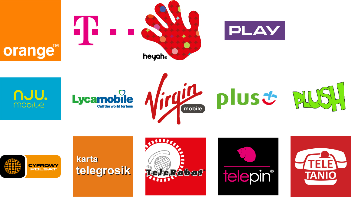 Doładowania elektroniczne prepaid