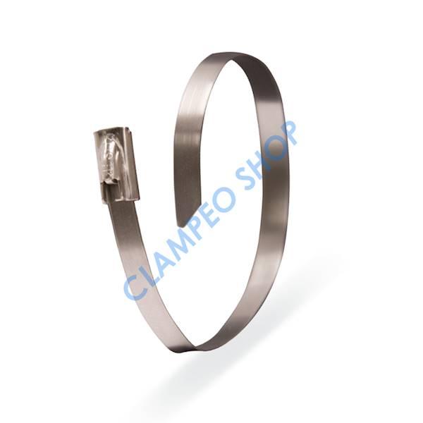 Opaska kablowa 7,9x300 mm INOX-100 szt.