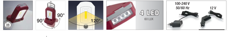 KW 32028 LATARKA LED LAMPKA 3W Li-ION 3.7V