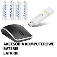 Akcesoria Komputerowe Baterie Latarki