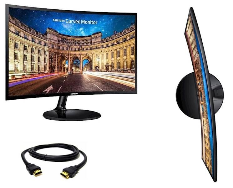 Monitor Samsung 24' C24F390FHUX