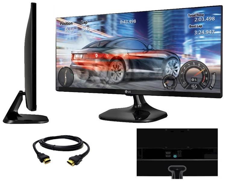 Monitor LG Electronics 29'' 29UM58-P IPS 21:9
